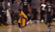 Nick Young Celebrates Buzzer-Beater with an Airplane Impression (Video)