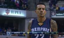"Pacers Fans Chant ""Derek Fisher"" at Matt Barnes (Video)"