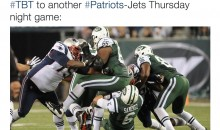 Patriots Troll Jets With Butt Fumble Pic For #TBT
