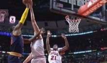 Pau Gasol Blocks LeBron James Game-Tying Lay-Up, Secures Bulls Victory (Video)