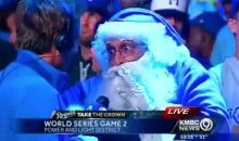 Royals Santa Claus Drops F-Bomb On Live TV (Video)