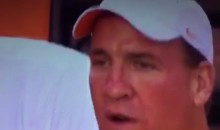 Even On His Bye Week We Get a Sad Manning Face (Video)