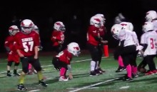 Watch a Youth League Football Team Give Up a TD While Doing The 'Whip' and 'Nae Nae' (Video)
