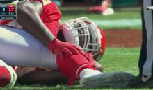 Jamaal Charles Suffered A Non-Contact Knee Injury and It Looked Bad (Video)