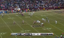 Redskins Attempted Failed Fake Punt Back In '09 Before It Was Cool (Video)