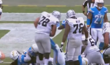 Corey Liuget Kicks Raiders Lineman In Stomach, Somehow Doesn't Get Ejected (Video)