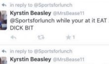 Cole Beasley's Wife WENT OFF On Twitter After Her Husband Fumbled