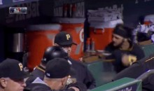 Sean Rodriguez Gets Ejected, Boxes Cooler During NL Wild Card (Videos)