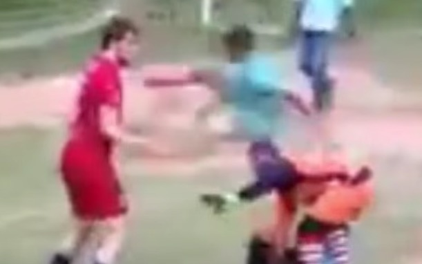 Soccer Bully Gets a Flying Kick to the Chest | Total Pro Sports