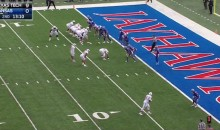 Texas Tech Left Tackle Scores 2-Point Convert Thanks To Crazy Formation (Video)