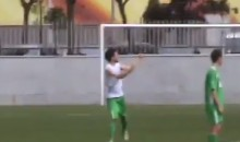 This Brazilian Player Protests Call by Pulling Down His Shorts (Video)
