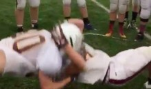 This High Schooler Drops an RKO During a Practice Drill (Video)