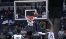 Vince Carter Gets Rejected by the Rim (Video)