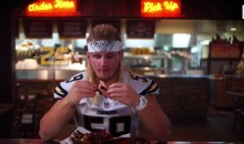 Why Did This Chargers Linebacker Eat 21,000 Calories in 43 Minutes? (Video)