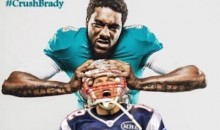 Dolphins Linebacker Chris McCain Trolls Patriots with #CrushBrady Twitter Pic