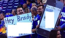 Colts Fans Brought Their 'A' Game Tonight (PIC)