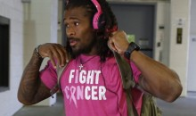 NFL Says DeAngelo Williams Cannot Wear Pink Breast Cancer Awareness Gear Year Round
