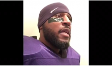 Hilarious Ray Lewis Motivational Halloween Impersonation (Vid)