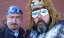 Detroit Lions Fan Gets Kicked Out of Ford Field, Films Video Losing His Mind (Video)