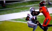 Braxton Miller Drops Ball, Knees It, Goes Off A Defender & Catches It (Video)