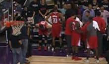 Austin Rivers Fined $25K For Throwing Seat Cushion, Hits Woman In The Face (Video)