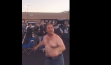 "Shirtless Eagles Fan: ""I'm Sick & Tired Of Being Sick & F*cking Tired"" (Video)"