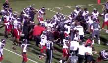 Epic High School Football Brawl Forces Authorities to Cancel Game (Video)