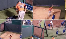 Astros Bullpen Catcher Javier Bracamonte Gave All His Gear to Royals Kids After His Team Was Eliminated from the Postseason (Pics)