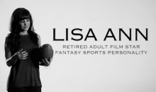 Former Porn Star Lisa Ann Says Sleeping with Hundreds of Athletes Gives Her a Unique Perspective on Fantasy Sports (Video)