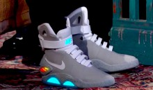 Michael J. Fox Unveils 2015 Nike Mags with Power Laces—The Back to the Future Sneakers