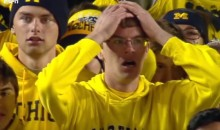 Michigan Fan Has Heart Attack After Watching the End of the Michigan-Michigan State Game