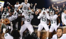 Bettor Wins Over $9,000 on $10 Parlay Thanks to Miracle Michigan State Touchdown (Pic)