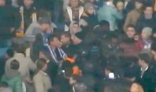 Racist Dynamo Kyiv Hooligans Attack Black Fans During Champions League Match Against Chelsea (Video)