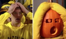 Ohio State Fan Carves Sad Michigan Fan Pumpkin, Is Evil Genius (Pic)