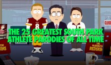 The 25 Greatest South Park Athlete Parodies Of All Time (Video)