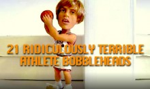 21 Ridiculously Terrible Athlete Bobbleheads (Video)