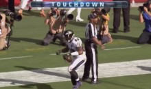 Steve Smith Scores TD, Does Pee-Wee Herman Dance (Video)