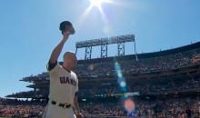 Giants Fans Give Tim Hudson Standing Ovation as Pitcher Calls It a Career (Video)