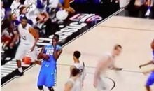 Kentucky's Alex Poythress Gets His Tooth Stuck on the Net after Alley-Oop (Video)
