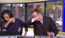 An Entire News Team Butchers Cam Newton's Dab Dance on TV (Video)