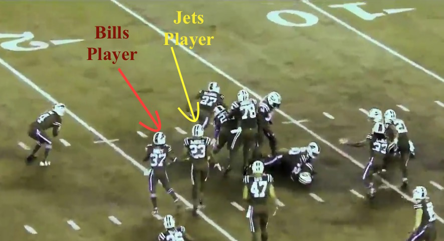 Bills Jets Color Rush - Colorblind view