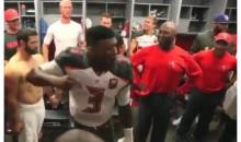 Jameis Winston Locker Room Speech: Our Defense Kicked Dallas' Ass!!! (Video)