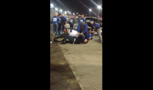 Giants-Pats Fan Brawl After Sunday Night Game (Video)