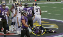 Justin Forsett Suffers Nasty Broken Arm… OUCH! (Video)
