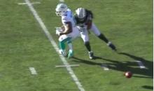 Jets' Calvin Pryor Blames Ryan Tannehill's Sh*tty Pass For His Big Hit on Rishard Matthews (Vid)