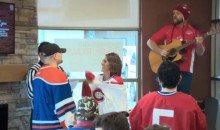 Couple Married In Hockey Jerseys at Tim Horton's is the Most Canadian Thing Ever (Pics)