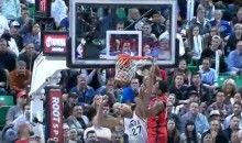 DeMar DeRozan Destroys Rudy Gobert Nasty Dunk (Video)at