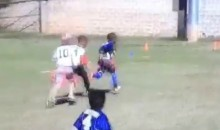 Devin Hester's Kid Can Run the Field Like His Old Man (Video)