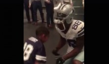 Dez Bryant Makes Young Fan's Day After Signing His Jersey (Video)