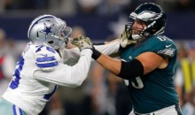 Eagles Offensive Linemen Speak Out Against Greg Hardy After OT Win